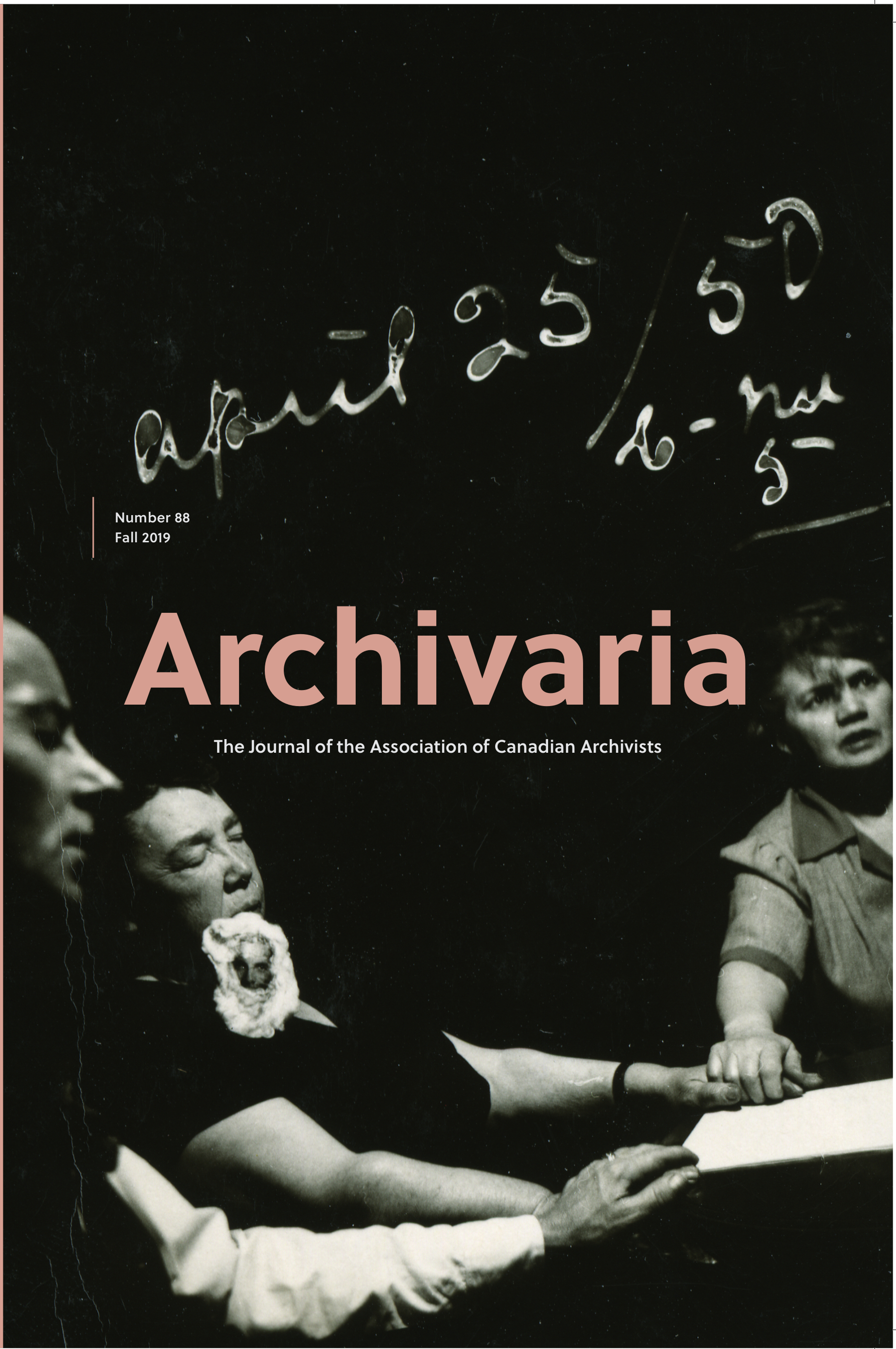 Archivaria 88 cover